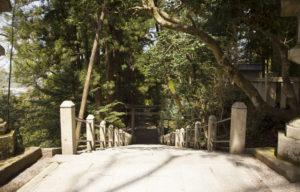 白山比咩神社の階段