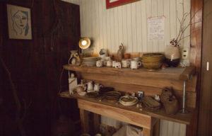 カフェハッカの陶芸品