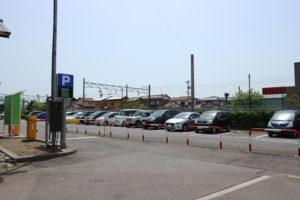 美川駅 駐車場