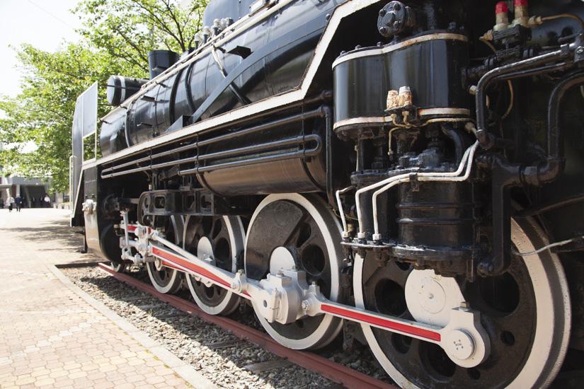 蒸気機関車車輪