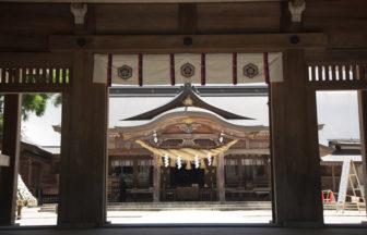 白山さん幣拝殿