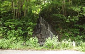 白山高山植物園帰りの滝