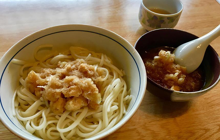 雪だるまカフェおろし蕎麦