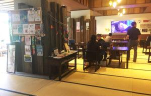 行善寺の食堂