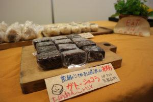 農園シナのおっぱい米の米粉ガトーショコラ