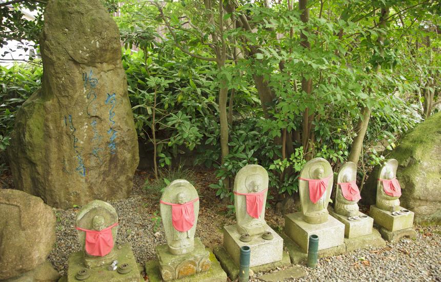 行善寺お寺のお地蔵さん