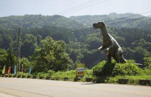 恐竜パーク駐車場まで