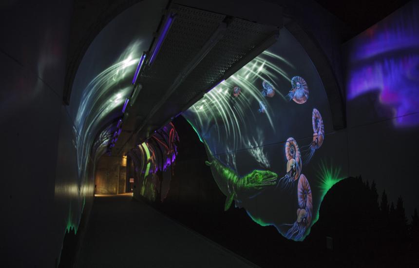 恐竜パークトンネル