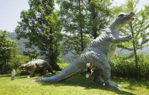 恐竜パーク外の恐竜